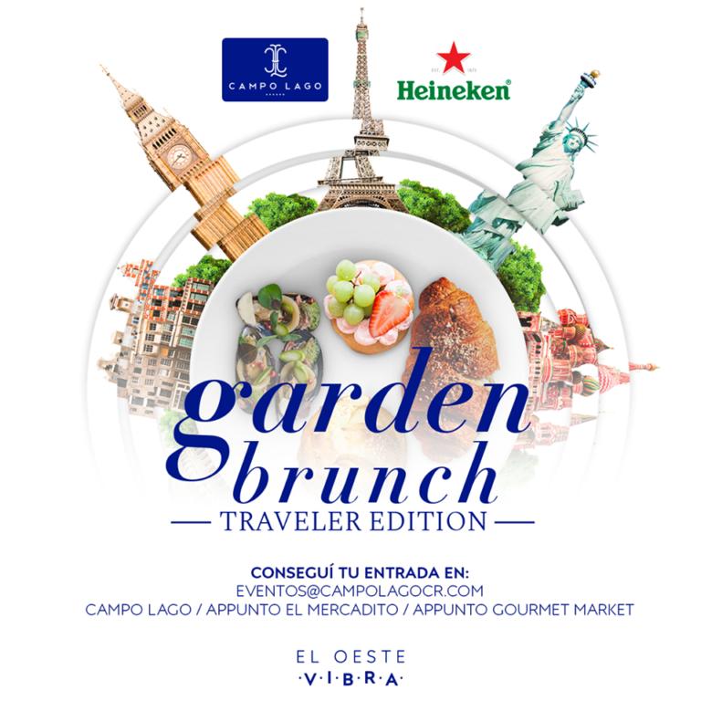 II edición Garden Brunch Campo Lago: un paseo gastronómico por el mundo