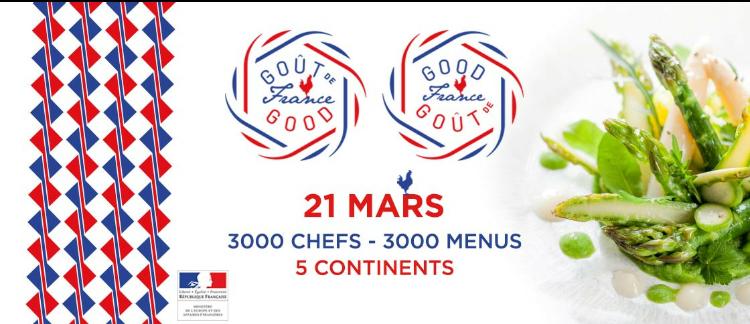 Gout de France 'Una cena para celebrar la gastronomía francesa al rededor del mundo'