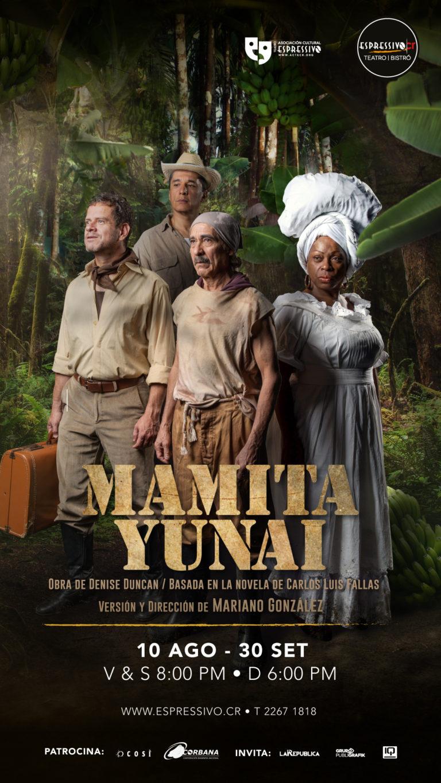 Teatro Espressivo lleva a las tablas Mamita Yunai  con un gran montaje escénico