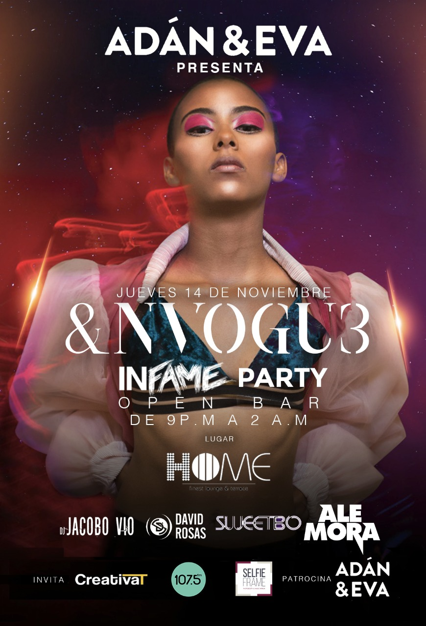 "INFAME celebra el ""stylish nightlife"" costarricense"