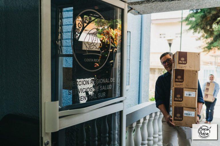 Café Britt dona 25 mil chocolates de pascua entre los principales centros de emergencias y áreas de salud del país