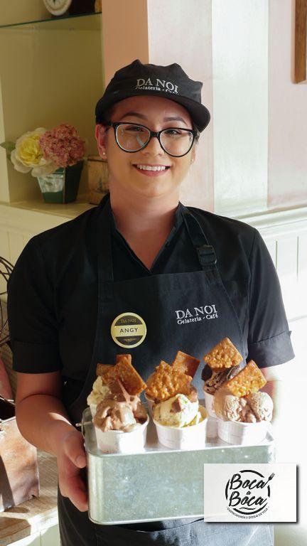 Da Noi quiere ser parte de las celebraciones con variada oferta de gelatos y tortas