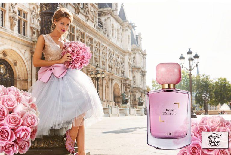 Deslumbra con Rose D'Amelie, la nueva fragancia de L'Bel