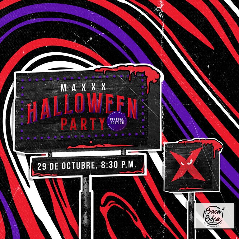 Maxxx Halloween Party, más creatividad y la misma diversión