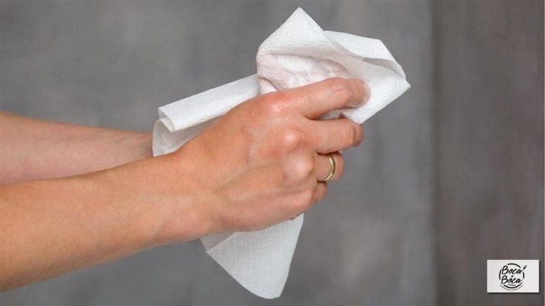 Las toallas de papel son el método más higiénico para secarse las manos