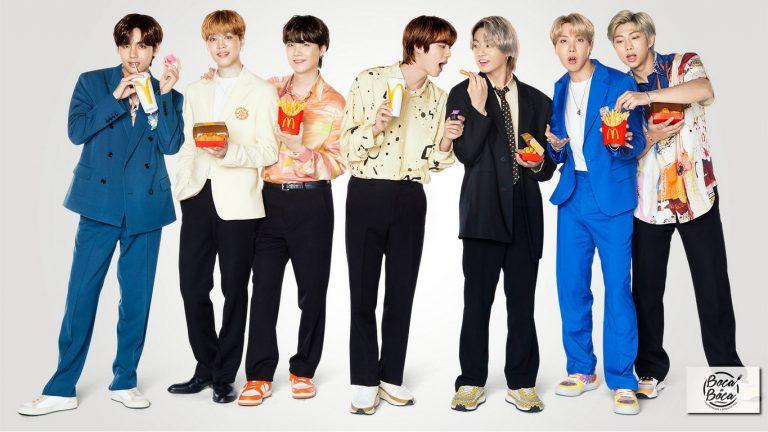 Esperada alianza de McDonald's y BTS arranca con exclusiva colección