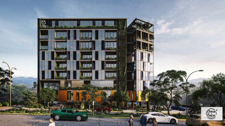 DENT SIETE es el nuevo proyecto urbano que ofrecerá modernos apartamentos, comercio y oficinas