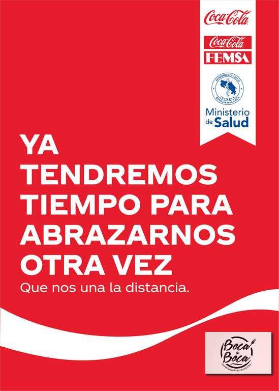 Coca-Cola invita a los costarricenses a seguir cuidándose