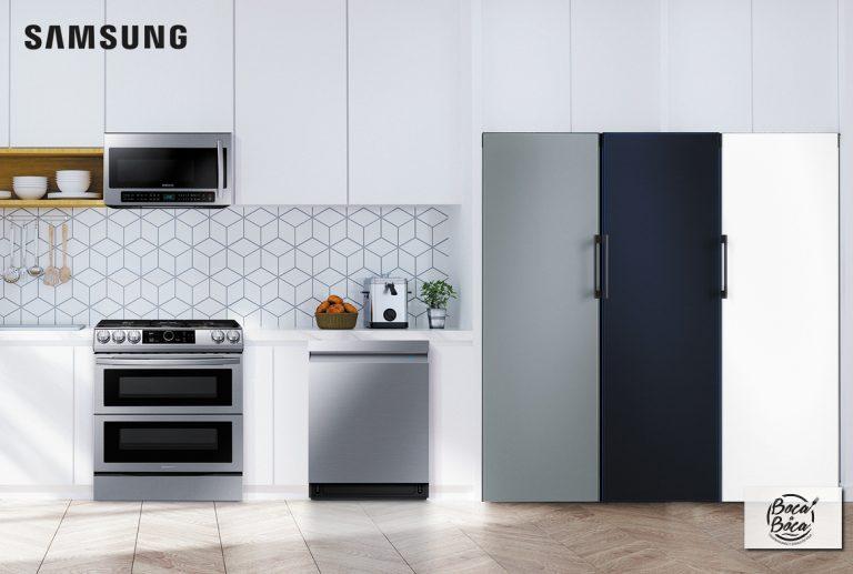 La nueva refrigeradora Bespoke de Samsung llega a Costa Rica