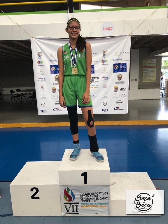 Disciplina, talento y mucha pasión son los ingredientes que llevaron a joven deportista a cumplir sus sueños