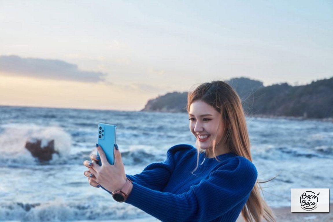 Con las potentes cámaras del Galaxy A72 es fácil lograr fantásticas fotos y videos