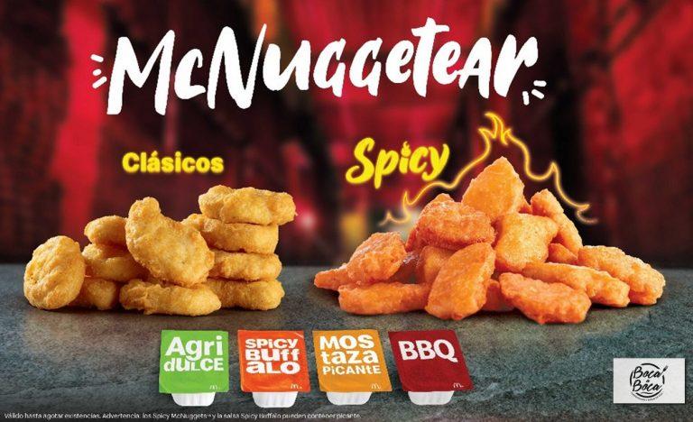 Fiebre de McNuggetear arde con los nuevos Spicy Nuggets de McDonald's