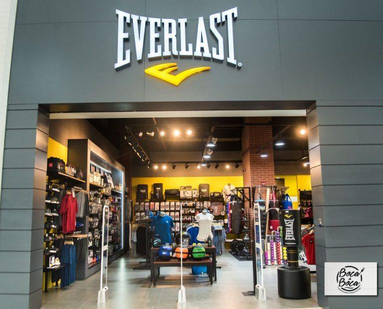 Nueva tienda Everlast en Multiplaza Curridabat