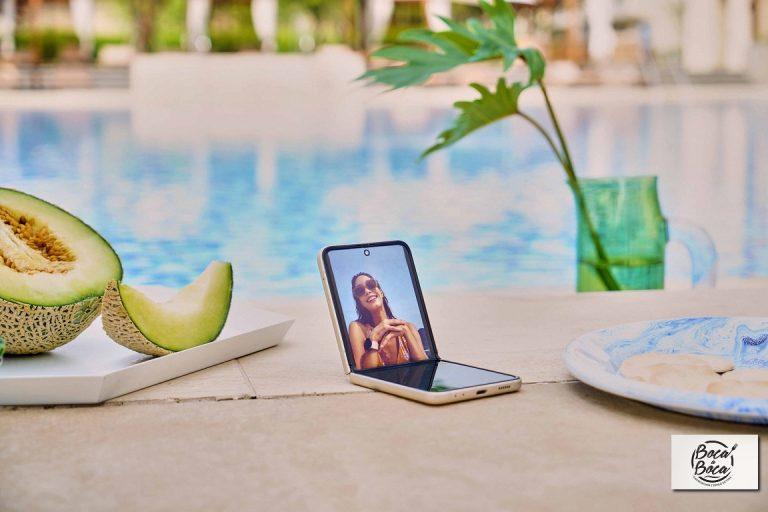 Máxima audacia en los looks personalizados  Galaxy Z Fold3 y el Galaxy Z Flip3 de Samsung