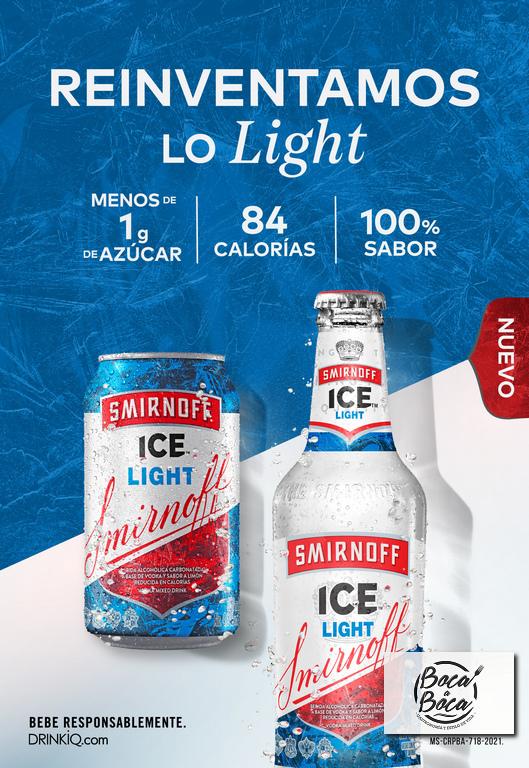 Nueva Smirnoff Ice Light llega a reinventar la categoría