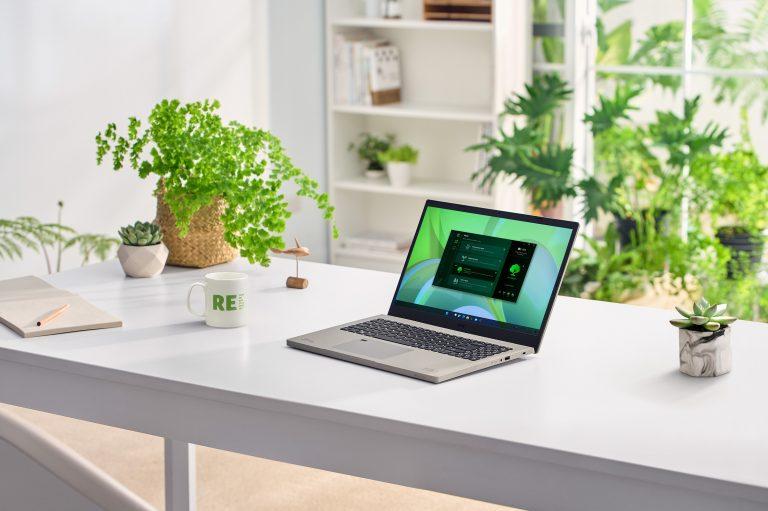 Acer se pone a la altura que demandan estos tiempos con nuevas adiciones a su línea ecológica y la ampliación de su cartera de productos antimicrobianos